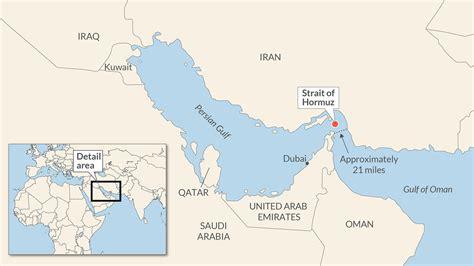 strait  hormuz oil choke point  focus   ends
