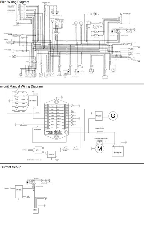please help with wiring all i want right now is for the starter to turn over motogadget m unit