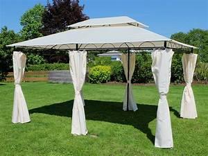 Pavillon Für Garten : eleganter garten pavillon 3x4 meter dach 100 ~ A.2002-acura-tl-radio.info Haus und Dekorationen