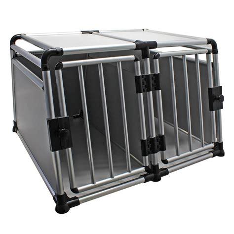 Gabbie Cani Per Auto Trasportino Gabbia In Alluminio Per Cani Da Auto