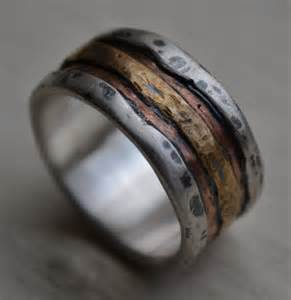 rustic engagement rings reserved for mens wedding band rustic silver