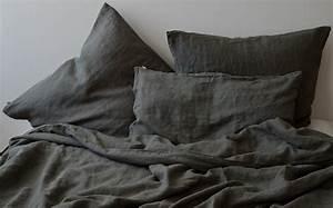 Was Ist Leinen : leinen kissenbezug laima charcoal grey 40x 80 cm oder 80x 80cm ~ Eleganceandgraceweddings.com Haus und Dekorationen