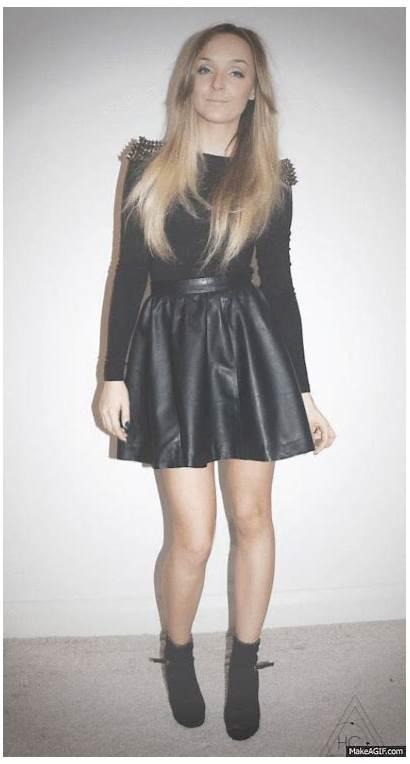 Skirt Skater Leather