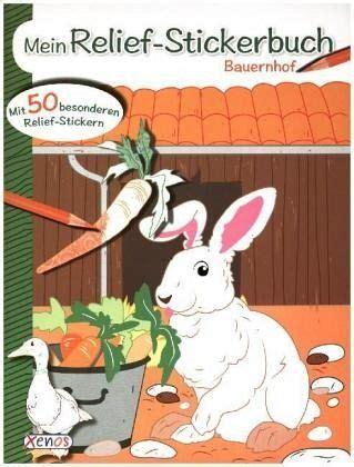 Mein Reliefstickerbuch Bauernhof Portofrei Bei Bücherde