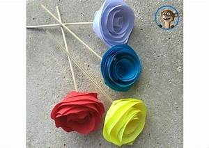 Einfache Papierblume Basteln : einfache bastelideen f r kinder hallo bloggi verr t tipps ~ Eleganceandgraceweddings.com Haus und Dekorationen