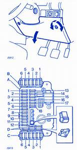 Land Rover 300 Tdi 1996 Fuse Box  Block Circuit Breaker Diagram