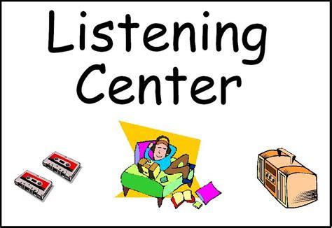 classroom center signs 210 | listeningcenter
