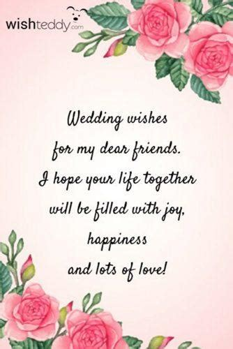 wedding wishes  examples    write   wedding card