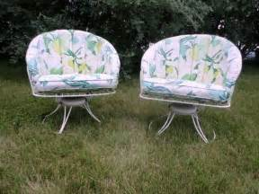 Vintage Homecrest Patio Furniture by 2 Mid Century Modern Homecrest Vintage Lawn Patio Wire