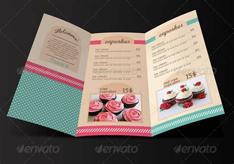 bakery menu templates psd ai  premium templates