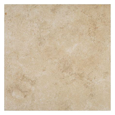 daltile forest crema 18 in x 18 in porcelain floor