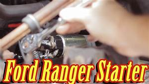 How To Replace The Starter In A Ford Ranger  Manual 5