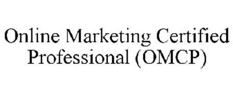 free marketing certifications marketing certified professional omcp trademark