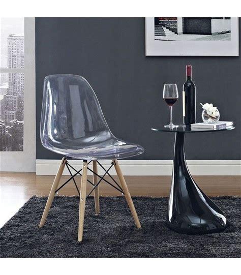 chaise knoll pas cher pas cher chaise dsw transparente