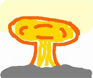 Nuclear Bomb Explosion (drawing by garrettspeck)