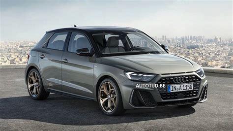 2019 Audi A1 Sportback Leaked Official Image Motor1com
