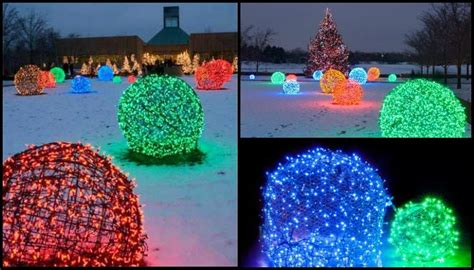chicken wire christmas lights make your own light balls diy projects for everyone
