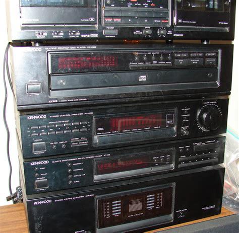 complete kenwood stereo system  components   speakers turntable amplifer ebay