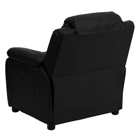 flash furniture deluxe heavily padded contemporary black