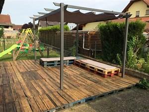 Terrasse Avec Palette : les meilleures id es pour la terrasse en palette ~ Melissatoandfro.com Idées de Décoration