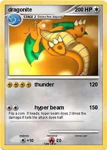 Pokémon dragonite 319 319 - thunder - My Pokemon Card