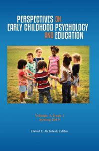 perspectives  early childhood psychology  education