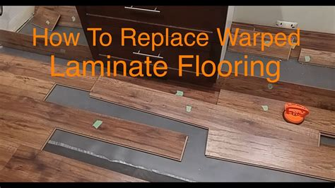 Laminate Flooring Bubbles Due To Water by How To Replace Warped Water Damaged Laminate Floor Boards