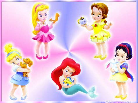 baby disney princesses wallpaper
