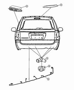 Chrysler Town  U0026 Country Wiring  Rear Fascia  Park Assist