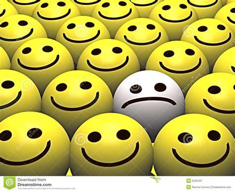 sad smiley   crowd  happy smileys royalty  stock