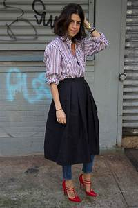 How To Wear Skirts Over Pants - Star Style PH