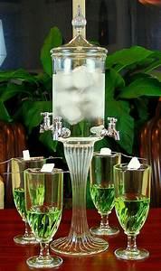 Fontaine A Alcool : deluxe absinthe fountain set 4 spout absinthe alcool fontaine absinthe boisson ~ Teatrodelosmanantiales.com Idées de Décoration