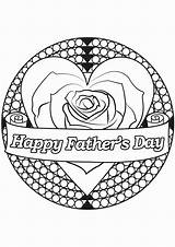 Coloring Fathers Pages Grandpa Happy Printable Getcolorings sketch template