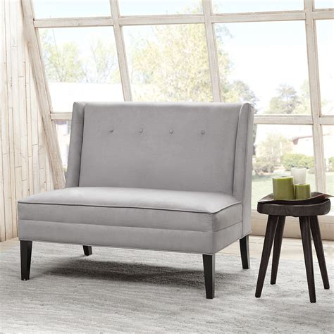 Back Settee by Button Tufted High Back Settee Wayfair