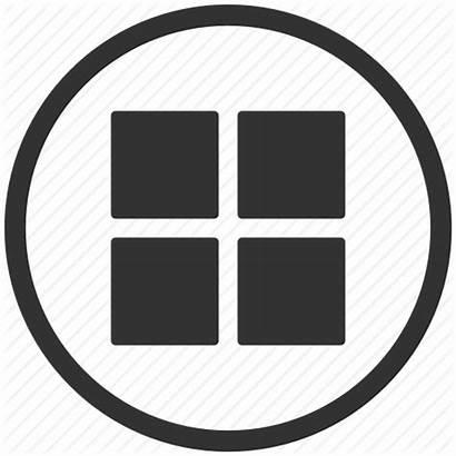 Icon Menu Apps App Grid Tile Rectangle