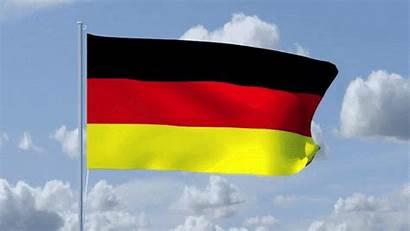 Flag German Animated Germany Waving Gifs Animation