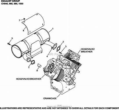 Exhaust 1000 Kohler Hp Diagram Deere John