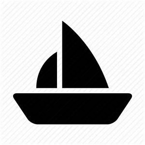 Boat, sail, sailing, ship, shipping, travel, yacht icon ...