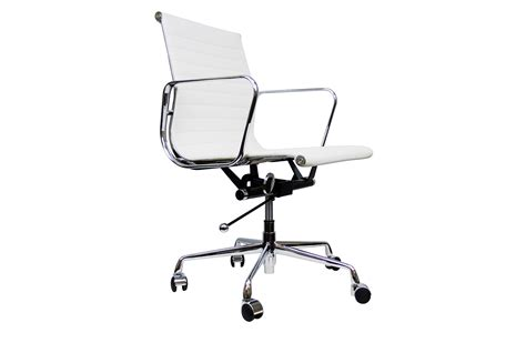 eames aluminium management chair low back serenity living