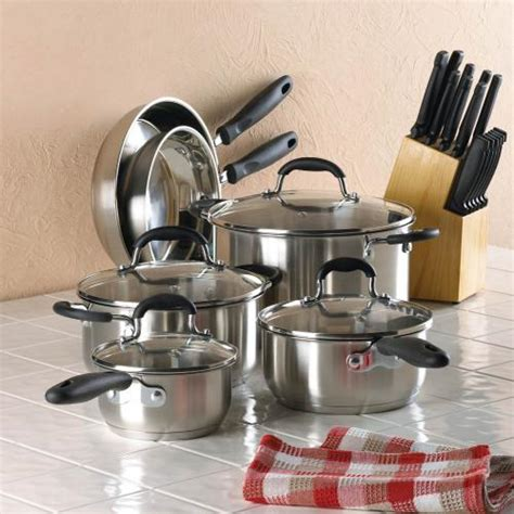 deluxe cookware collection  piece braganhome