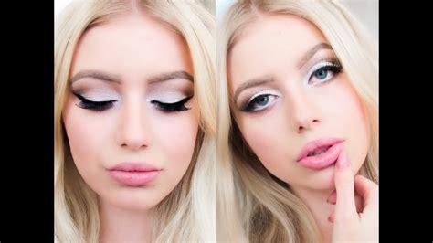 Как макияжем увеличить глаза основные ошибки правила и техники нанесения макияжа фото и видео