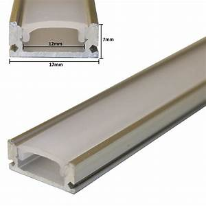 Led Strip Leiste : 1m alu profil led aluminium leiste abdeckung f rgb led strips zubeh ~ Watch28wear.com Haus und Dekorationen
