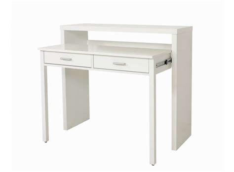 bureau console extensible 2 en 1 console bureau sisko le deco tendency