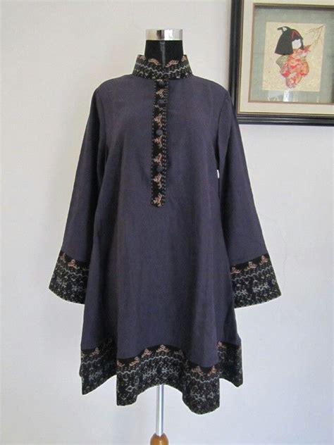blouse linen tenun ntt aneka ragam pakaian kasual kasual pakaian