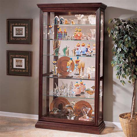 pulaski keepsakes corner curio cabinet pulaski keepsakes curio cabinet reviews wayfair