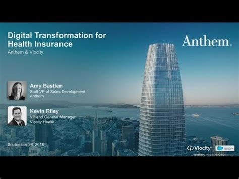 Before you cancel your health insurance with anthem, be sure another health plan covers you and your family members, so you do not experience a coverage gap. Anthem's Digital Transformation for Health Insurance with Vlocity - YouTube
