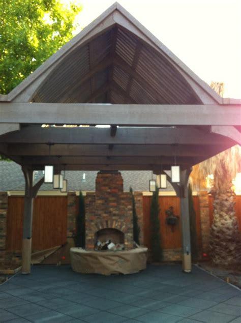 texas unique plan  cedar diy timber frame pavilion kit