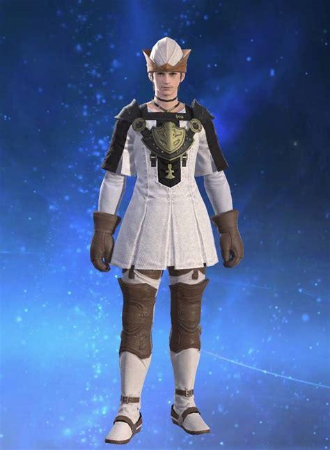 eorzea  cotton tabard final fantasy xiv