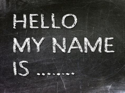What's In A Name? Perhaps A Great Deal!  The Wisdom Daily
