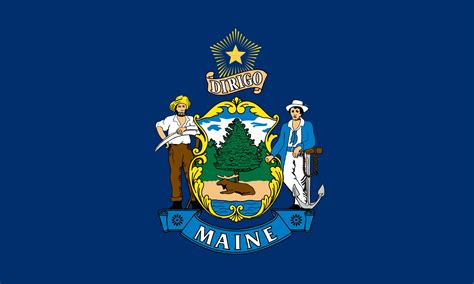 Maine 4ft. x 6ft. SpectraPro Flag